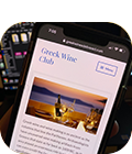 Wine Events Mobile App